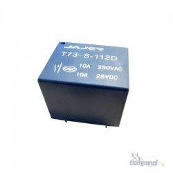 Relé 12vdc 10a (T73-S-112D)